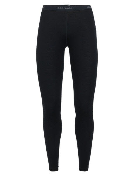 Icebreaker Wmns 260 Tech Leggings Black