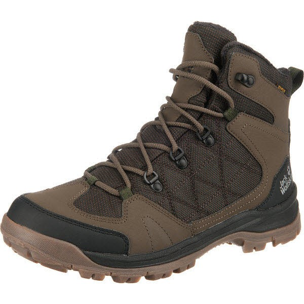 Jack Wolfskin COLD TERRAIN TEXAPORE MID M coconut brown / blac