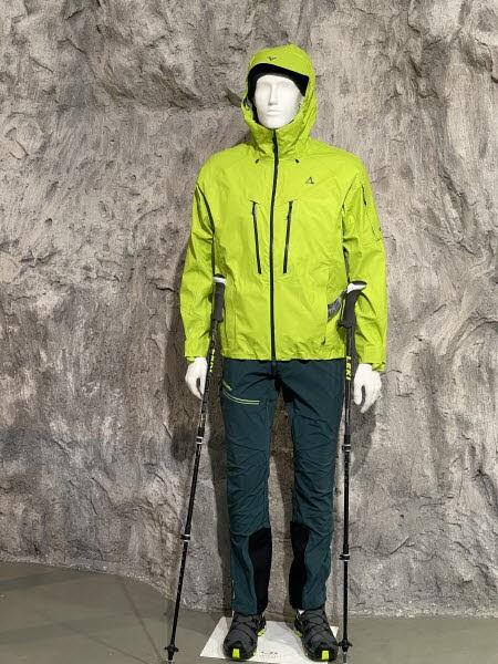 Schöffel 3L Jacket Val d Isere2 lime green