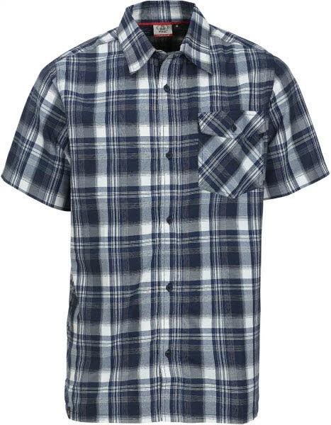 Asker II - 1/2 Shirt blue