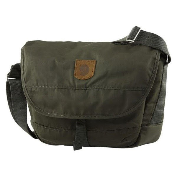 Fjäll Raven Greenland Shoulder Bag Small Deep Forest
