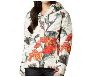 Columbia Powder Lite Insulated Anorak Chalk Botanica Print