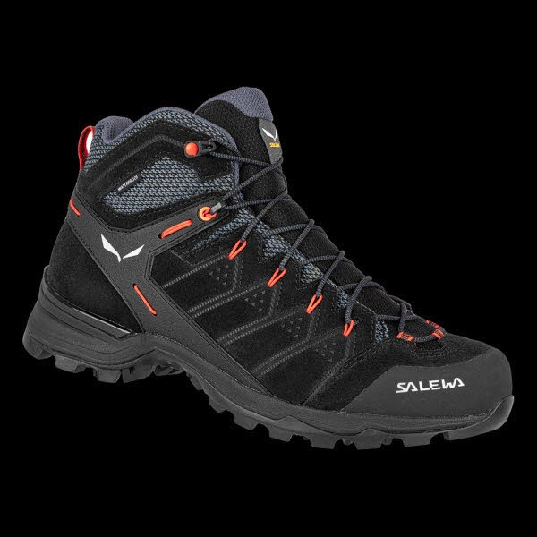 Salewa MS ALP MATE MID WP Black Out/Fluo Orang