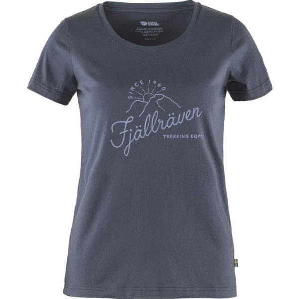 Fjäll Raven Sunrise T-shirt W Navy
