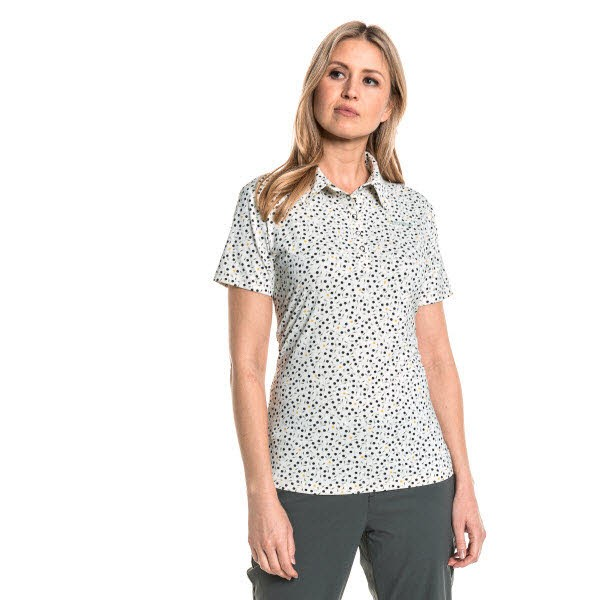 Schöffel Polo Shirt Linwood L lily pad