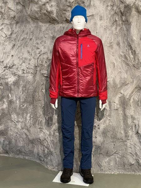 Schöffel Thermo Jacket Boval M biking red