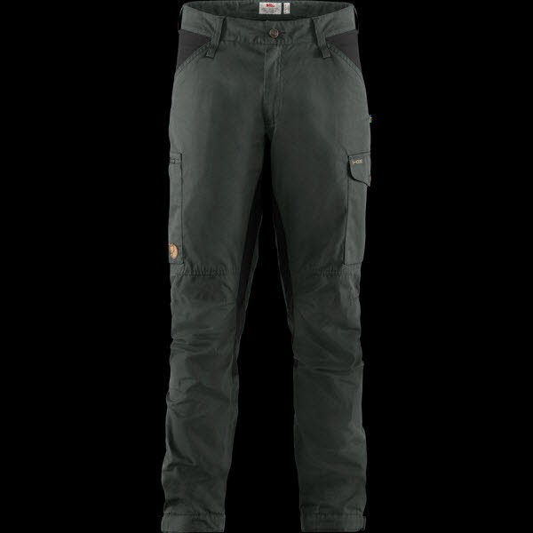 Fjäll Raven Kaipak Trousers M Dark Grey-Black