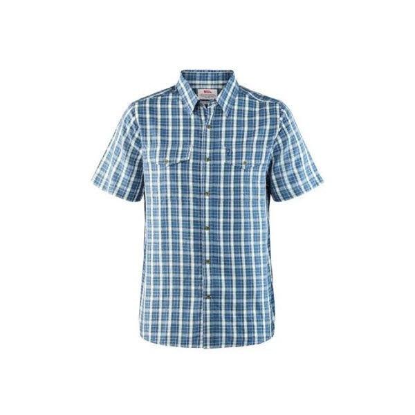 Fjäll Raven Abisko Cool Shirt SS Uncle Blue