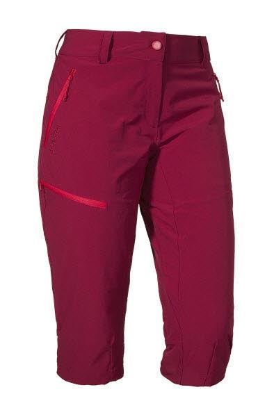 Schöffel Pants Caracas2 beet red