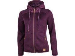 TAKOMA Fleece Hoody dark grape kiss