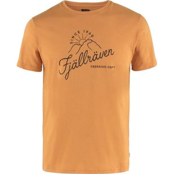 Fjäll Raven Sunrise T-shirt M Spicy Orange