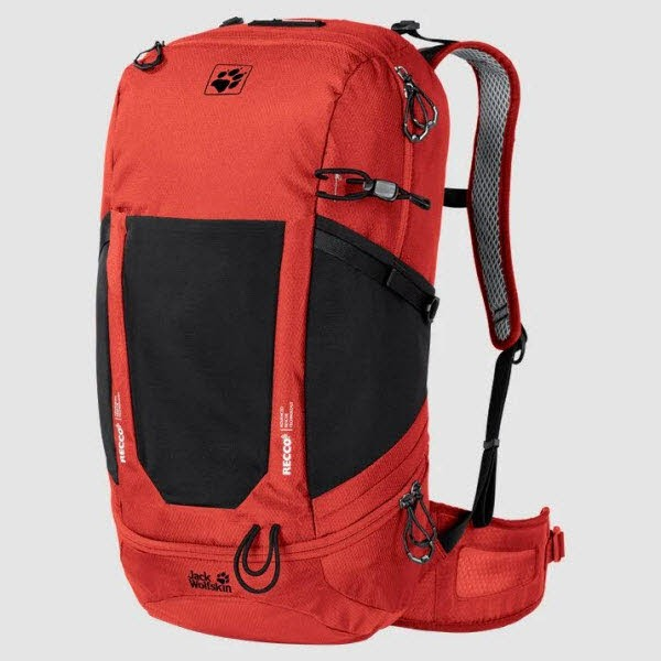 Jack Wolfskin KINGSTON 30 PACK RECCO lava red