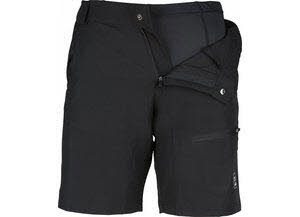 NOS BIKE-W, Lds 2in1 Shorts black