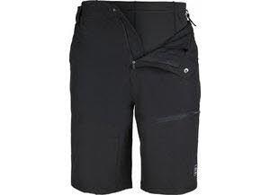 NOS BIKE-M, Mens 2in1 Shorts black