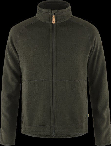Fjäll Raven Övik Fleece Zip Sweater M Deep Forest