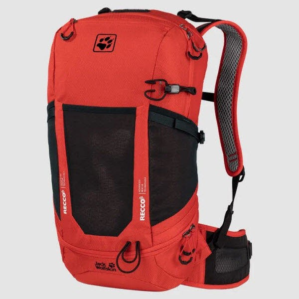 Jack Wolfskin KINGSTON 22 PACK RECCO lava red