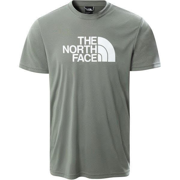 The North Face M REAXION EASY TEE WROGHTIRONMORNINGFOG