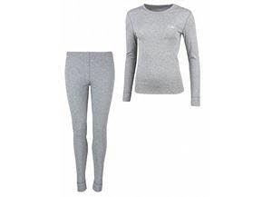 RIGA 3-L, Lds. Underwear Set grey melange