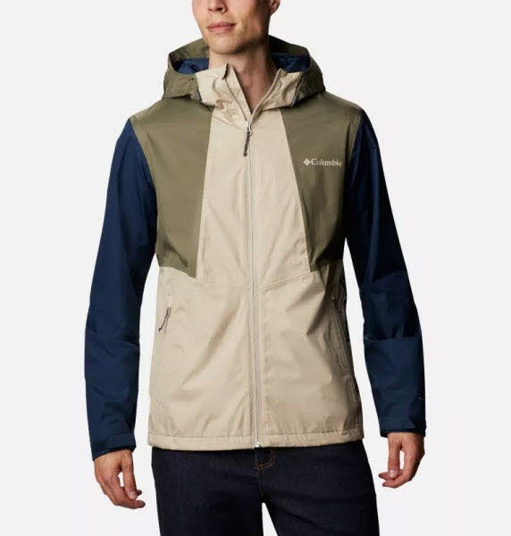 Columbia Inner Limits II Jacket Ancient Fossil
