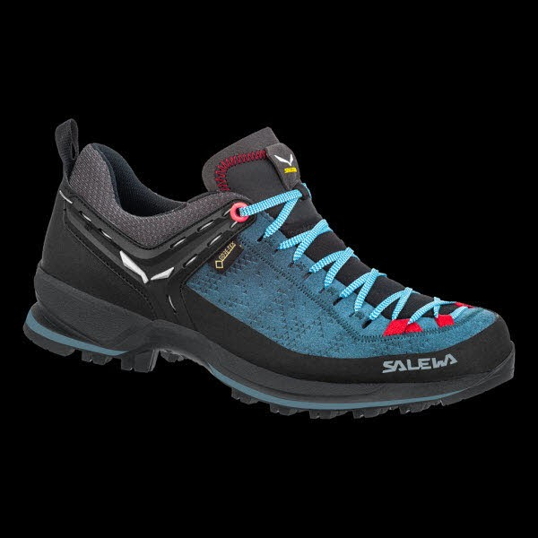 Salewa WS MTN TRAINER 2 GTX Dark Denim/Fluo Cora