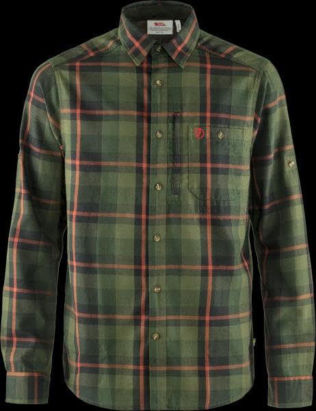 Fjäll Raven Fjällglim Shirt Laurel green