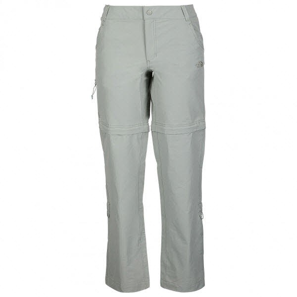 The North Face W EXPLORATION CONVERTIBLE PANT WROUGHT IRON