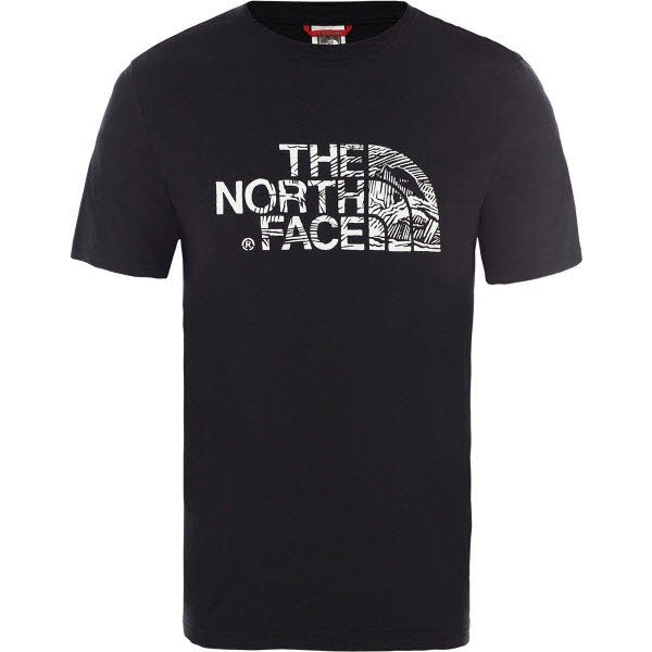 The North Face M S/S WOOD DOME TEE TNF BLACK