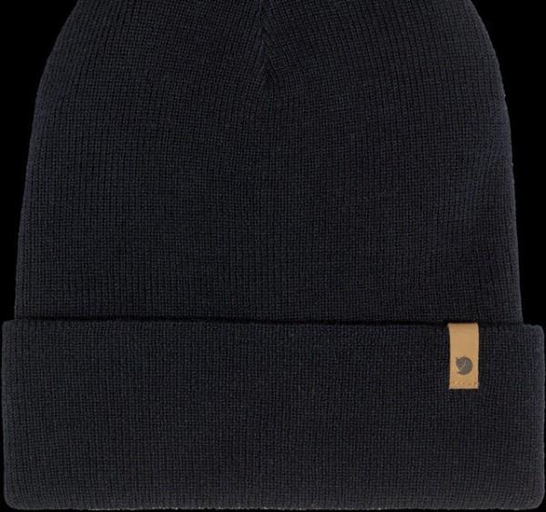 Fjäll Raven Classic Knit Hat Dark Navy