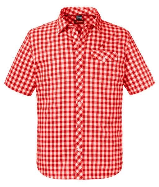 Schöffel Shirt Miesbach2 SH aura orange