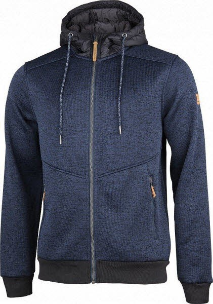 TAKOMA Fleece Hoody blue nights