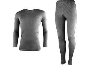 RIGA 3-M, Underwear Set Mens grey melange