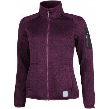 CARDWELL-L, Lds. Fleece Jacket dark grape kiss